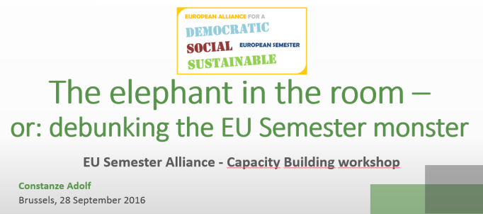 Semester Alliance Capacity Building September 2016
